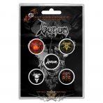 Venom - Button Badge Pack.   Black Metal.   jelvényszett