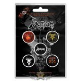 Venom - Button Badge Pack.   Black Metal.   jelvényszett