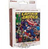 CAPTAIN AMERICA - Marvel – Playing Cards.  fantasy world kártya