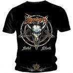 Venom - Black Metal . zenekaros  póló.