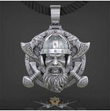 Viking Tomahawk - Pendant Necklace 316L Stainless Steel     nyaklánc, medál
