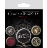 GAME OF THRONES - THE FOUR GREAT HOUSES.   jelvényszett