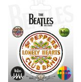 THE BEATLES (SGT. PEPPER). Vinyl stickers. matrica szett