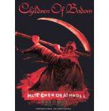 CHILDREN OF BODOM - Hate crew. TEXTILE POSTER TEXTILE POSTER. zenekaros zászló