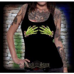 THE WALKING DEAD - Zombi skeleton hand. női trikó