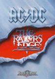 AC/DC - RAZORS EDGE. TEXTILE POSTER. zenekaros zászló