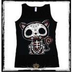Kitty bones cat  női trikó , atléta