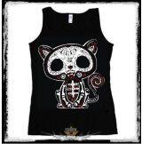 Cica * Cat - Mexico bones. női trikó , atléta