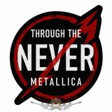 METALLICA - THROUGH THE NEVER Patch.  zenekaros felvarró