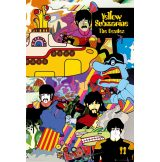 The Beatles - Yellow Submarine.   plakát, poszter