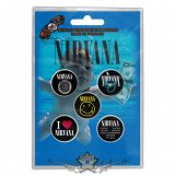 Nirvana -  'Nevermind' Button Badge Pack.   jelvényszett