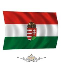 MAGYAR ZÁSZLÓ címeres. 60 X 90. cm.  zászló