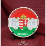 Magyarország - Angyal címer  tányér.