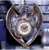 Dracus Horologium - Steampunk Dragon Wall Clock. Steampunk Sárkány Falióra.