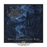 Dark Funeral - Standard Patch - Where Shadows Forever Reign.   import zenekaros felvarró