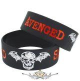 AENGED SEVENFOLD - LOGO -  Rubber Wristband.   szilikon karkötő