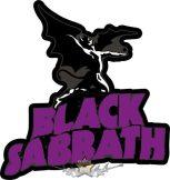 BLACK SABBATH - LOGO  felvarró