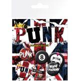 Punks Not Dead.  jelvényszett