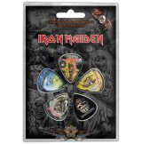 IRON MAIDEN - THE FACES OF EDDIE Plectrum Pack.  Plectrum Pack. gitárpengető szett