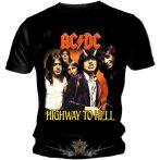 AC/DC - Highway to hell.  zenekaros  póló.