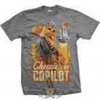 Star Wars  - Solo Chewie Co-Pilot .  filmes  póló