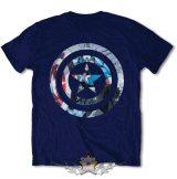 Captain America - Knock-out.  Marvel .  filmes, movie  póló