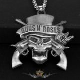 GUNS N ROSES - Pisztoly logo.  nyaklánc, medál