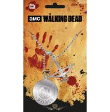 THE WALKING DEAD - WALKER HUNTER 2.  medál, dog tag