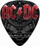 AC/DC - BLACK ICE.  pengető nyaklánc