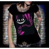 BLACK CAT - WE'RE ALL MAD HERE...2.  női póló