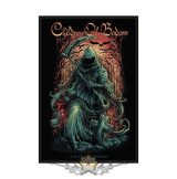Children Of Bodom - Standard Patch.  Reaper.    import zenekaros felvarró