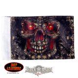 Skull Made of Skulls.  motoros zászló