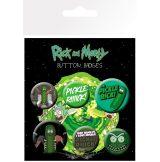 RICK AND MORTY - Pickle Rick. BP0743. jelvényszett