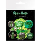 RICK AND MORTY - Pickle Rick. BP0743. jelvényszett