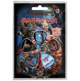 IRON MAIDEN - LATER ALBUMS Plectrum Pack.  Plectrum Pack. gitárpengető szett