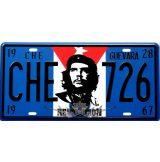 CHE GUEVARA - REVOLUTION. fém dekorációs tábla.