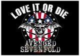 Avenged Sevenfold - Love It Or Die. zenekaros zászló