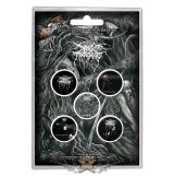 Darkthrone - Button Badge Pack.  Old Star.   jelvényszett