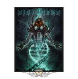 Disturbed - Standard Patch - Evolution Hooded.   import zenekaros felvarró