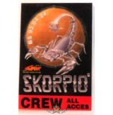 SKORPIÓ. CREW. ALL ACCES. BS.93.04.24.   Stage pass.