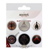 Assassin's Creed Odyssey - Mix Badge Pack.   jelvényszett