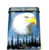 EAGLE - Cigarettatartó doboz fém.  cigiddoboz