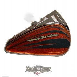 Harley-Davidson® Claw Ripped Brown Fuel Tank Pin - PU-63146. fém motoros jelvény