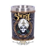 Ghost - Papa Emeritus III Gold Shot Glass.  Officially Licensed Merchandise 7.5cm..