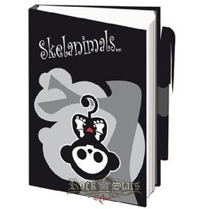 5bf95d18dd Skelanimals Note Pad - Marcy Monke. notesz - Shark n Roll - Rock ...