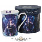 Angels - Enchantment Mug .  11cm  fantasy porcelán  bögre díszdobozban