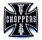 IRON CROSS - WEST COAST CHOPPERS  felvarró