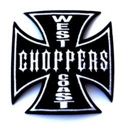 IRON CROSS - WEST COAST CHOPPERS. FV78.  felvarró