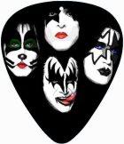 KISS - FACE.  pengető nyaklánc