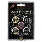 Paradise Lost - Button Badge Pack.  Lost Crown of Thorns. jelvényszett